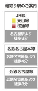 アトム法律事務所名古屋支部最寄り駅